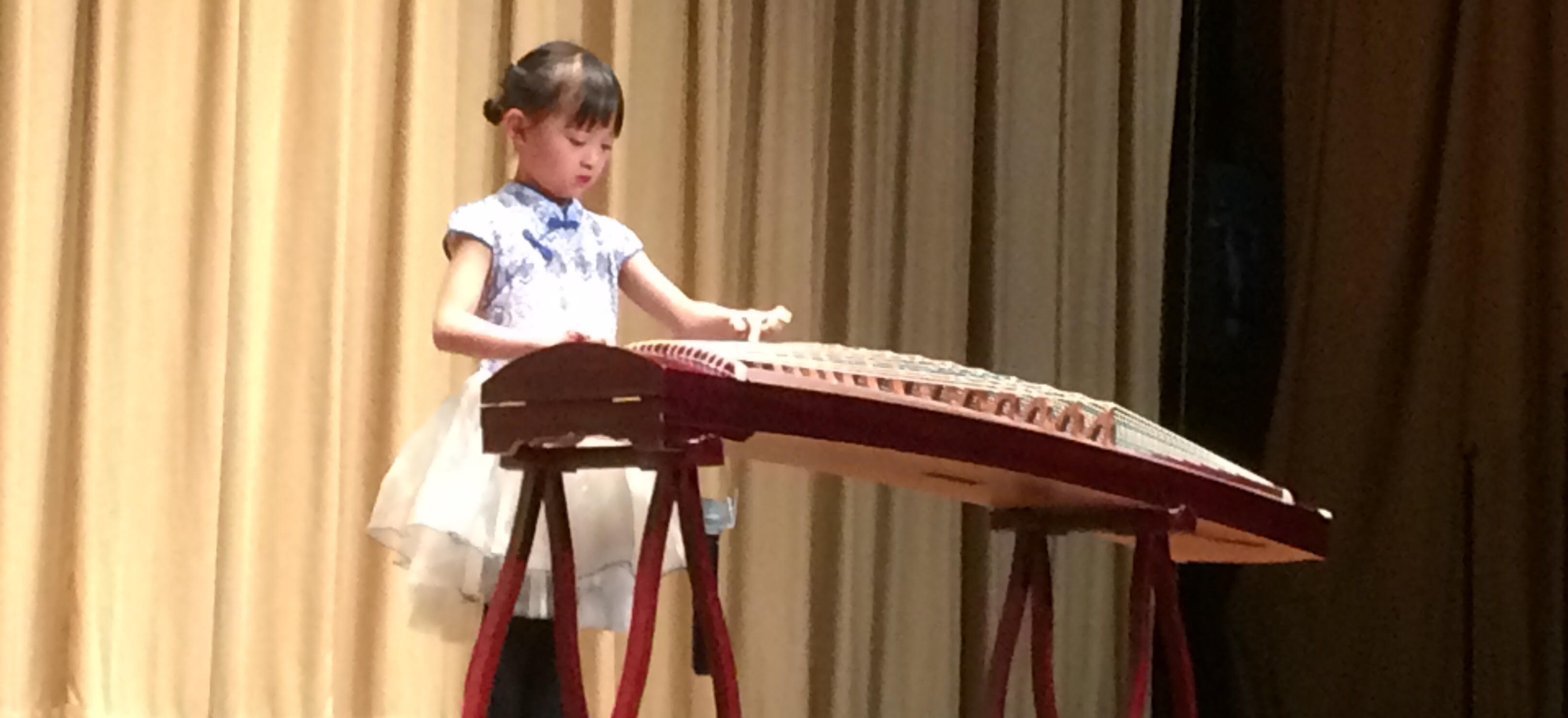 Alyson Plays the Guzheng