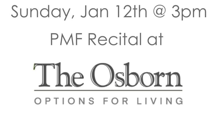 Recital at The Osborn