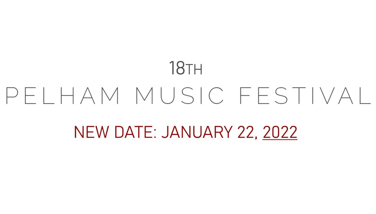January 22, 2022 — New Date for the 18th PMF